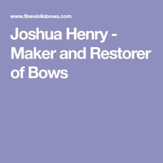 Joshua Henry