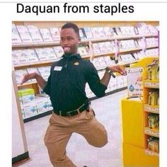 Daquan from Staples