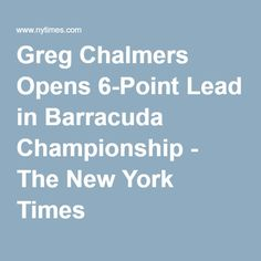 Greg Chalmers