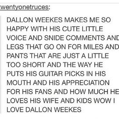 Dallon Weekes