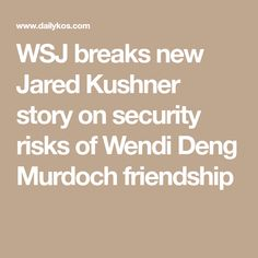 Wendi Deng Murdoch