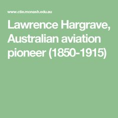 Lawrence Hargrave