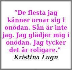 Kristina Lugn