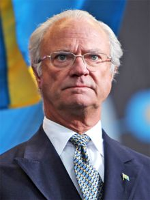Carl XVI Gustaf of Sweden